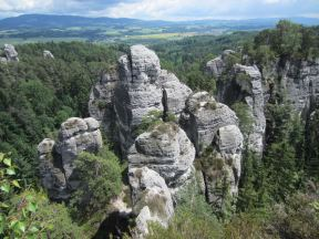 Hruba Skala Tour im Böhmischen Paradies am 11.06.2012 - Tschechien
